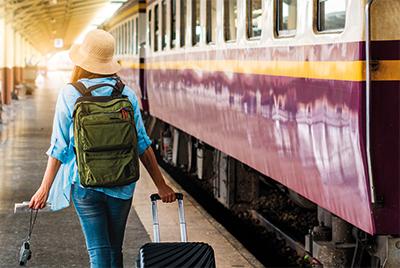 Nachhaltig reisen mit Zug