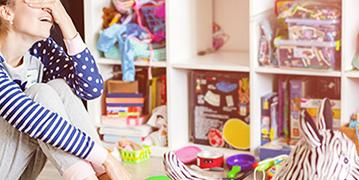Kinderzimmer aufräumen und ausmisten
