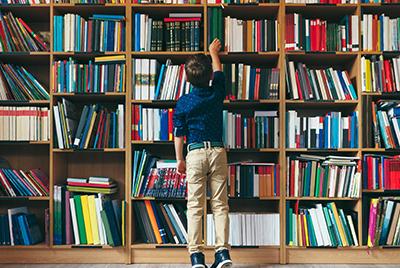 Ordnung in der Büchersammlung