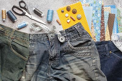 Upcycling von Kleidung