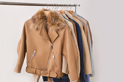Kleidung mit Pelz