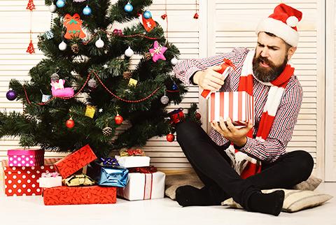 Déception à la réception du cadeau de Noël