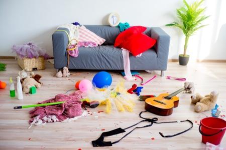 Mettre fin au désordre dans la maison