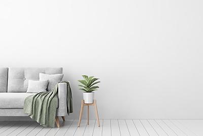 pièce minimaliste