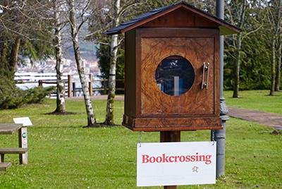 bookcrossing et boite à livres